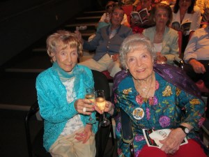 Flossy Keesley and Countess DeHoernle at Wick Theater
