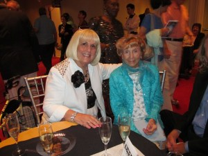 Charlotte Beasley and Flossy Keesley at 100th Birthday Celebration at Wick Theater