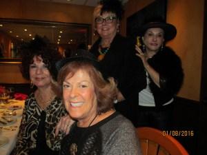 Connie Hainline, Karen Burke, Joan Dulin and Sharon Schornstein