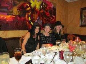 Gloria Fuchs, Norma Naimowitz and Evalyn David