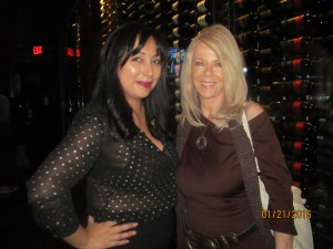 Marilyn Blanco Corey of Inner Circle Exec. Club and Sharon DiPietro, Chair of the Doggie Ball