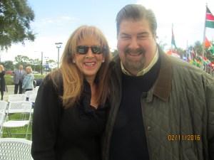 Lynda Lawless and Jay Van Vechtin