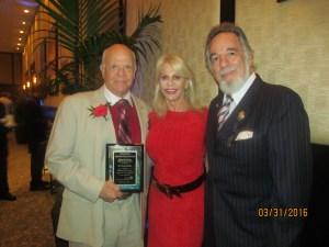 Dr. Ron Rubin, Bonnie Halperin, and Yaacov Heller