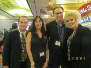 Sheldon Cohn and wife and Gary and Darci Wolfson