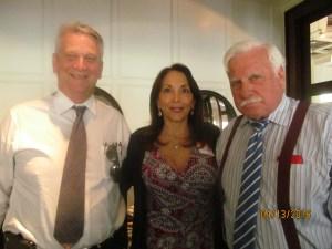 Ross Gaffney, Linda Knox and Coach Schnellenberger