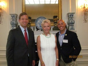 Lt. Gov Cantera, Amb. Mary Ourisman and Brian Mast