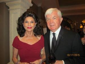 Christine Lynn and John Gallo at the Mayor's Ball