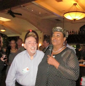 Barry Epstein and Khalilah Ali