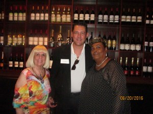 Charlotte Beasley, Jay Shapiro and Khalilah Ali