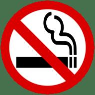 smoke free zone pic