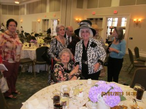 At the Wick Theater Charlotte Beasley, Countess De Hoernle and Marilyn Wick