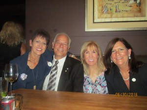Jan Savarick, Jon Kaye, Jayne Scala and Mayor Haynie