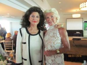 Christine Lynn and Patti Carpenter