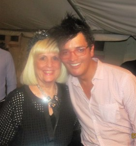 Charlotte Beasley with Piano Composer, Ivann