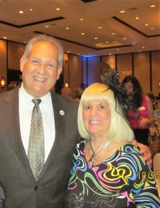 Boca Councilman Bob Weinroth with Charlotte Beasley