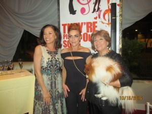 Kim Wick, Andrea Mc Ardle and Marilyn Wick