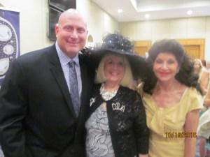 Gregory Fried, Charlotte Beasley and Christine Lynn