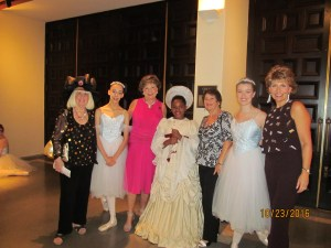 Charlotte Beasley and Arlene Herson, Carol Waldman and Joan Snell