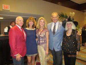 Dr. Ron Rubin, Pam Weinroth, Kim Champion, Bob Weinroth and Charlotte Beasley