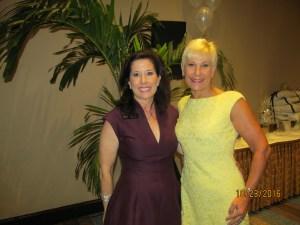 Andrea Doyle and Constance Scott