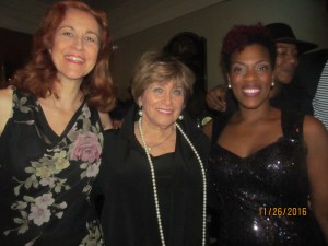 Danette Cuming, Marilyn Wick and Patrece Bloomfield