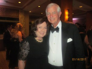 Mr. and Mrs. Mullagh, Boca's Deputy Mayor