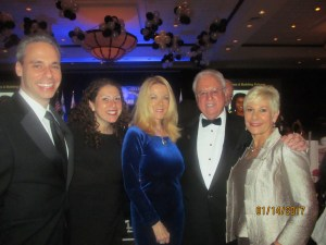 Scott and Bella Singer, Sharon and Jay DiPietro and Constance Scott