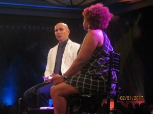 Pitbull and Leslie Streeter