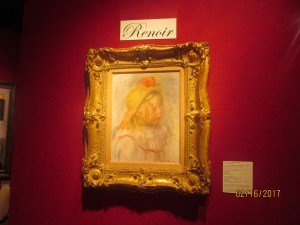 A Real Renoir worth $1,280,000.