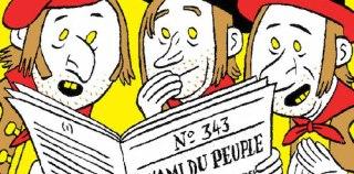 Romain Dutreix et Toma Bletner revisitent la presse satirique!