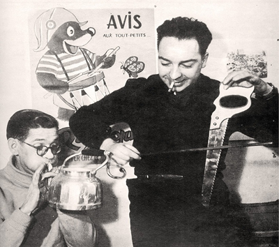 J.C. Arnal et René Moreu