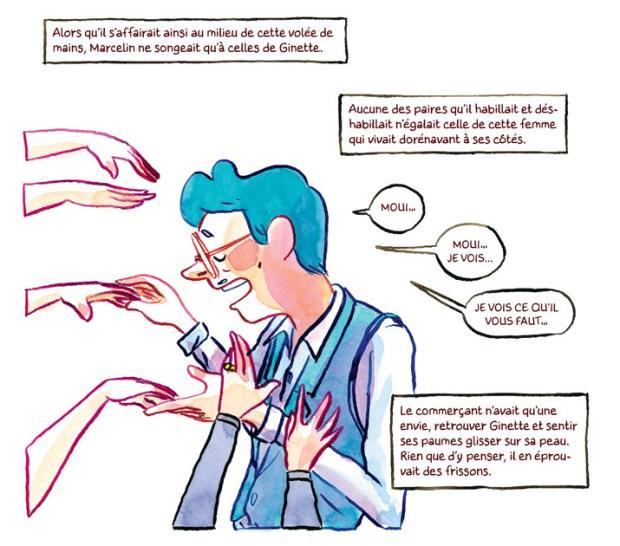 Les mains de Ginette 1