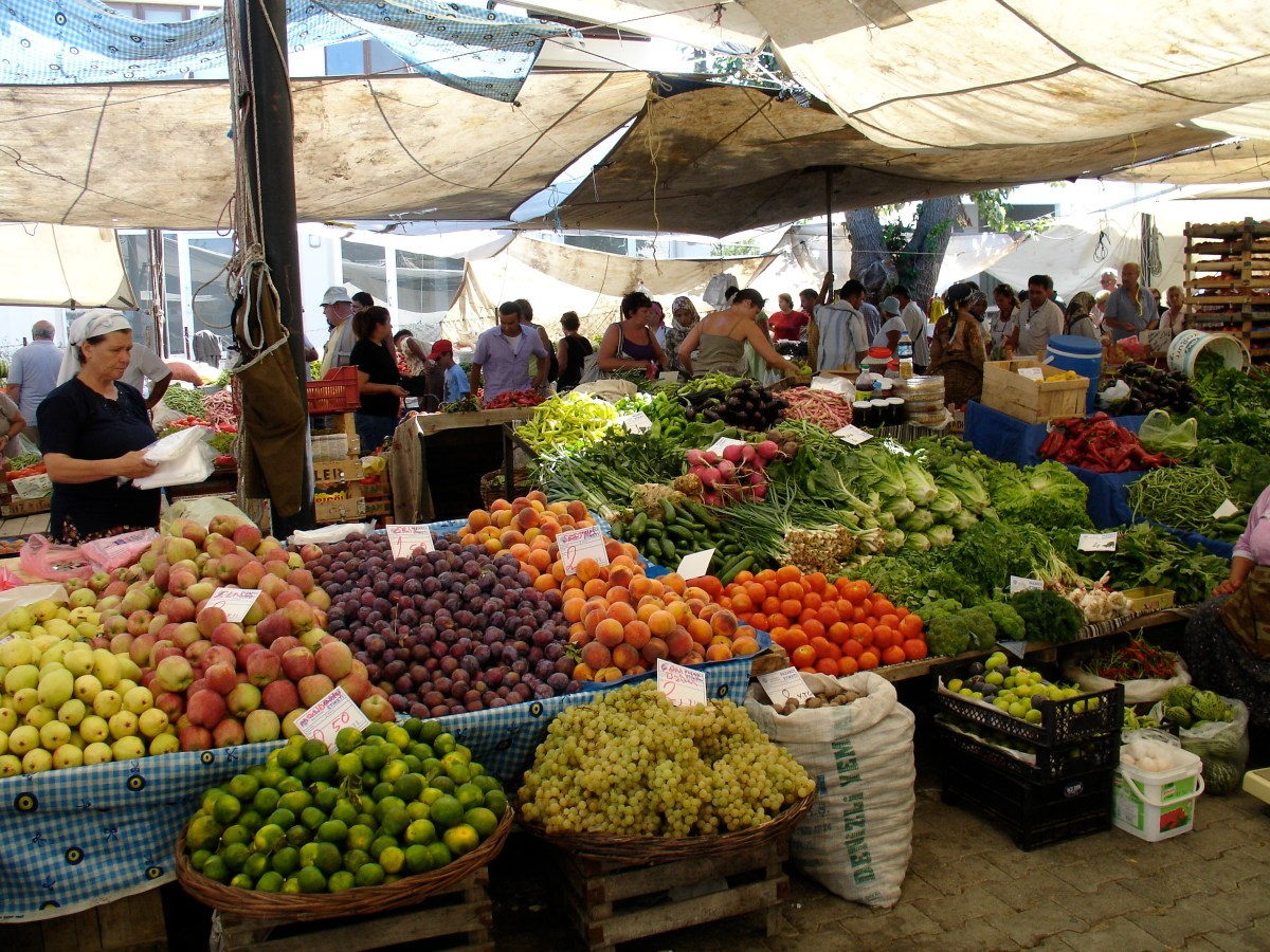 All Weekly Markets on the Bodrum Peninsula
