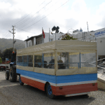 Free Tractor And Trailer Service for Market Day in Gumusluk Turkey