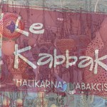 Sign for Le Kabbak Gourd Shop Bodrum Turkey