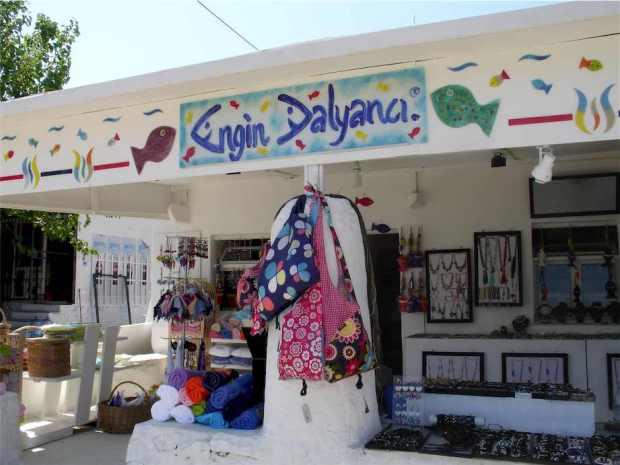 Engin Dalyanci Shop in Turkbuku, Turkey