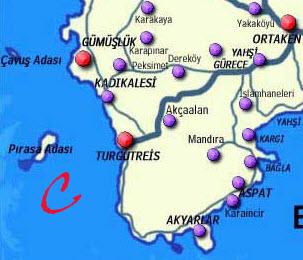 Map of QuadrantC