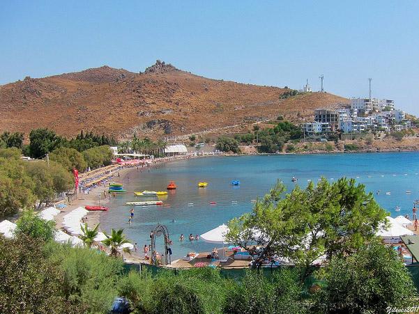 Akcabuk Beach Turgutreis Bodrum Peninsula Turkey