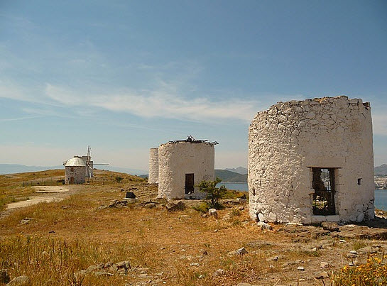 Bodrum Windmills Turkey