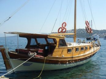 Anka Regency Boat Gundogan Bodrum Peninsula Turkey