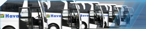 Bodrum Havas Bus to Milas Bodrum Airport Turkey