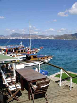 Bodrum Day Boat stop over at Karaada Turkey