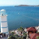 Ortakent-Yahsi-Kargi Lighthouse Bodrum Turkey