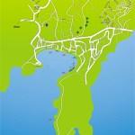 Bitez Street Map Bodrum Peninsula Turkey