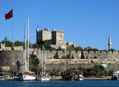 Bodrum Castle of St. Peter Turkey