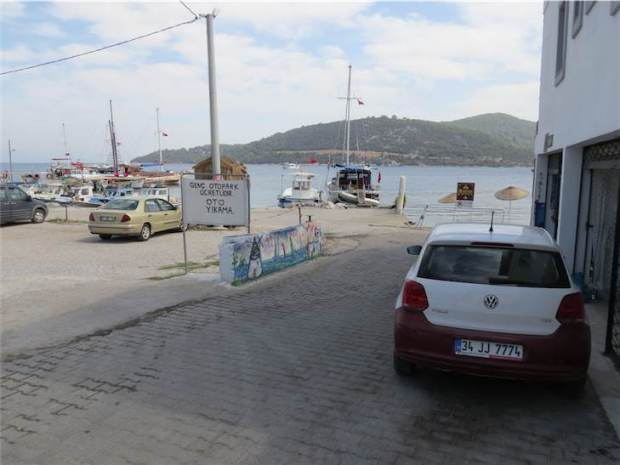 Golkoy Car Park by the Harbour