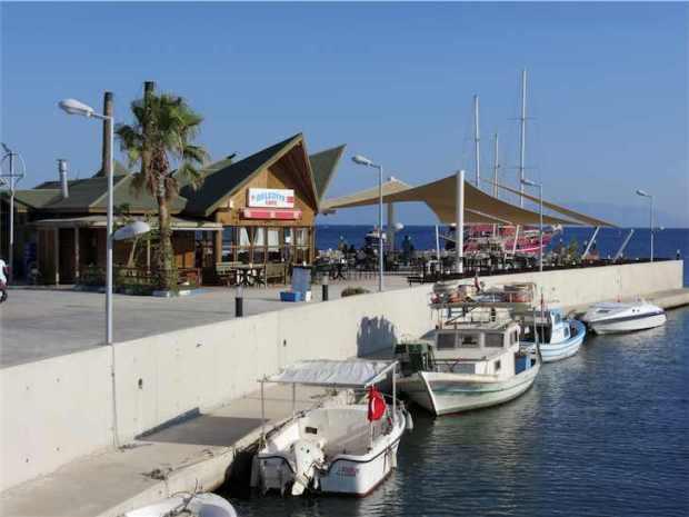 Ortakent Yahsi Bodrum Turkey Marina Area