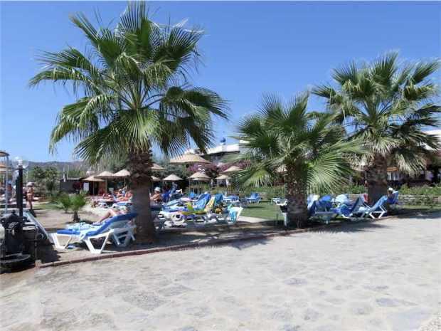 Ortakent and Yahsi Beach Bodrum Peninsula Turkey