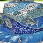 Mosaic Art by local Bodrum Artist Turkey