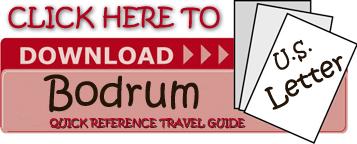 Bodrum QRTG LTR version for Turkey